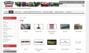 AJ Reeves Model Engineering Supplies